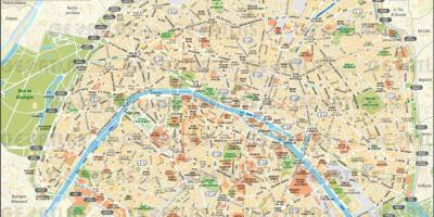 Map de gratis Paris